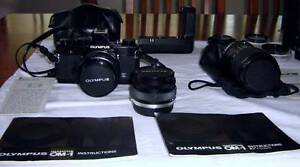 Olympus OM1 camera, Lenses and Accessories Blackalls Park Lake Macquarie Area Preview
