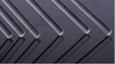 Wamami 5 Transparent Acrylic Plexiglass Rod 3mm Diameter 250mm Long