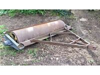 Cast Flat 6' Field Roller Suitable for small/compact tractor
