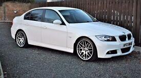 2007 BMW 320D SE AUTO ALPINE WHITE *** FINANCE AVAILABLE ***