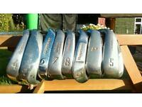 Set of Golf Irons 4,5,6,7,8,9,pw,sw & putter.