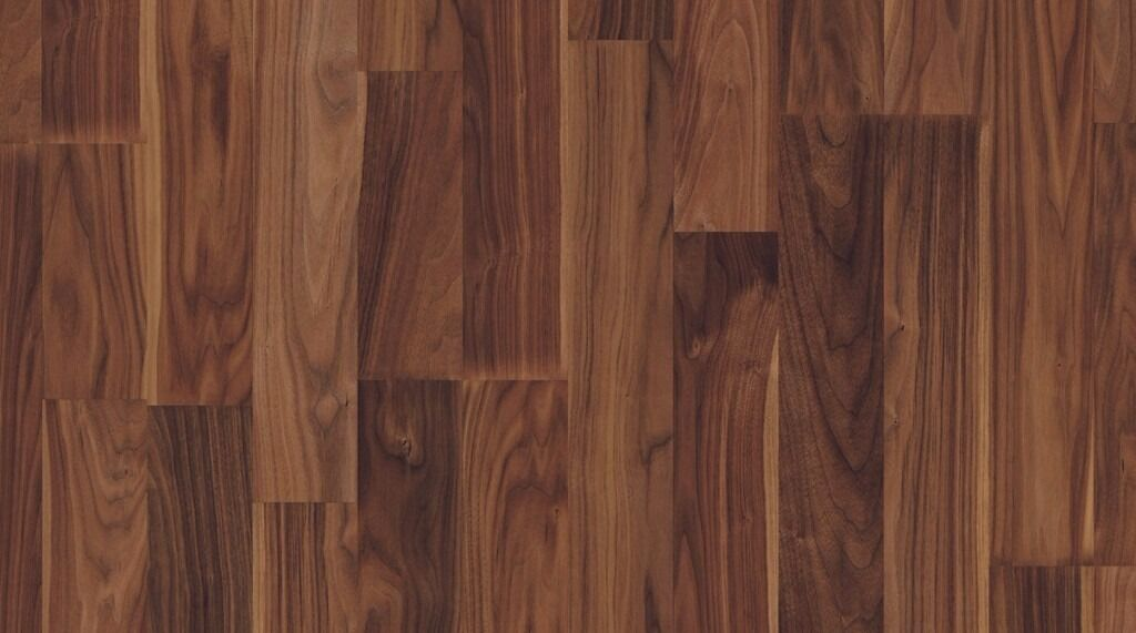 Brand new 6 packs pergo classic walnut laminate flooring for 8mm wood floor underlay