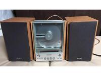 Sony music system, vintage