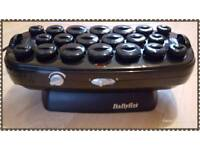 Babyliss heated hair rollers.