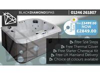 Black Diamond Spas SALE NOW ON!!