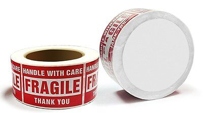1-20 Rolls 3 X 5 Fragile Stickers Handle With Care Labels 500roll Free Shipping