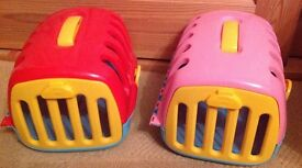 Toy pet carriers
