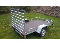 NEW TRAILER QUAD, GOLF BUGGY TRAILER / TRANSPORTER 6,7 X 4.10 RAMP