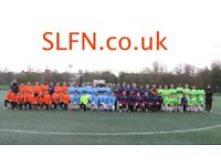 WEEKEND 11 ASIDE FOOTBALL IN LONDON, FIND FOOTBALL, PLAY FOOTBALL, new players wanted. 191h2