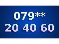 079** 204060 GOLD MEMORABLE SPECIAL BUSINESS EASY VIP CHERISHED MOBILE NUMBER