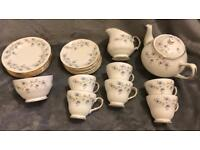 Duchess vintage crockery set