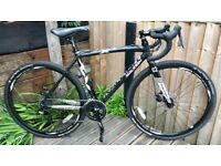 Raleigh's RX Comp - Cyclocross / Gravel style road bike. Carbon forks - Size Medium