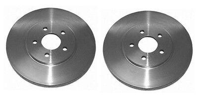 Front Vented Brake Discs Chrysler PT Cruiser 2.4 Estate 2000-10 150HP 280mm