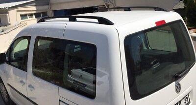VW Caddy 2010+ Techo de Aluminio Barras de Portaequipajes Estantes