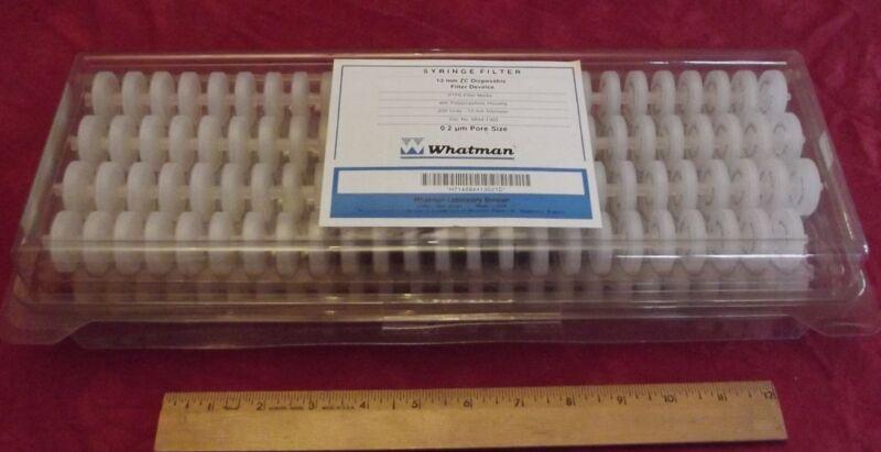 whatman syringe filters 13 mm ZC PTFE 0.2 micron 200 pack 6844-1302