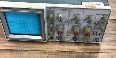 Tektronix 2213a Analog Oscilloscope 250vac