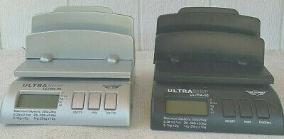 My Weigh Ultraship Digital Postal Scale 55 Lb Bundle Black Silver Accesories