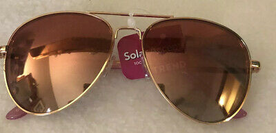 Rose Gold Aviator Sunglasses Trend 100% Uva Protection Solar (Aviator Sunglasses Trend)