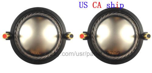 2 x Diaphragm For PRV RPD3220Ti PRV D3220Ti & D3220Ti-ND Driver 8 Ohms  US CA