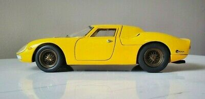 VERY RARE PLAIN BODY YELLOW and Dark Gold Hot Wheels Ferrari 250 LM 1:18