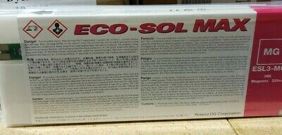 Roland Eco Sol Max Ink For Vs Series - Magenta 220cc