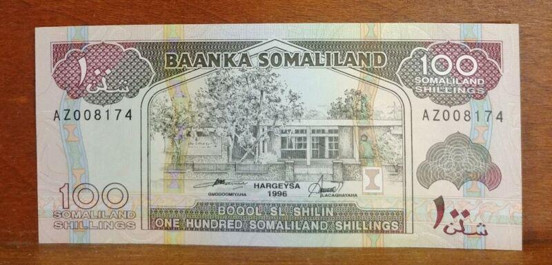 Somaliland 100 Shillings 1996 UNC