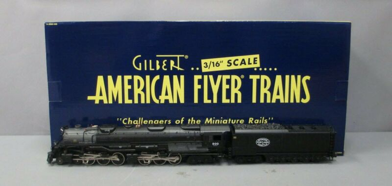 American Flyer 6-48094 S SP&S Legacy 4-6-6-4 Challenger Steam Locomotive #900 EX