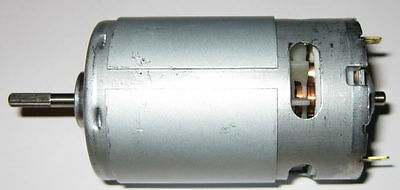 6v Dc Motor - Rc And Power Wheels - Fan Cooled High Speed Hobby Motor - 3.17 Mm