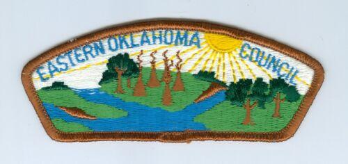 CSP Eastern Oklahoma Council S-1