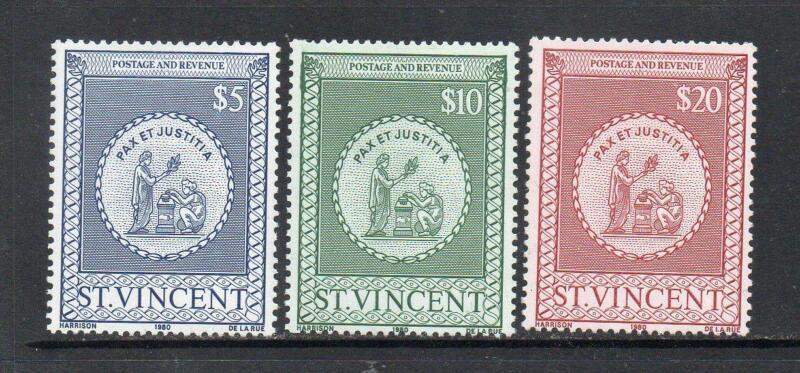 Prophila Collection St Completa Edizione Vincent-Unione Islanda Blocco 4 Francobolli per i Collezionisti 1986 Queen Elizabeth II.