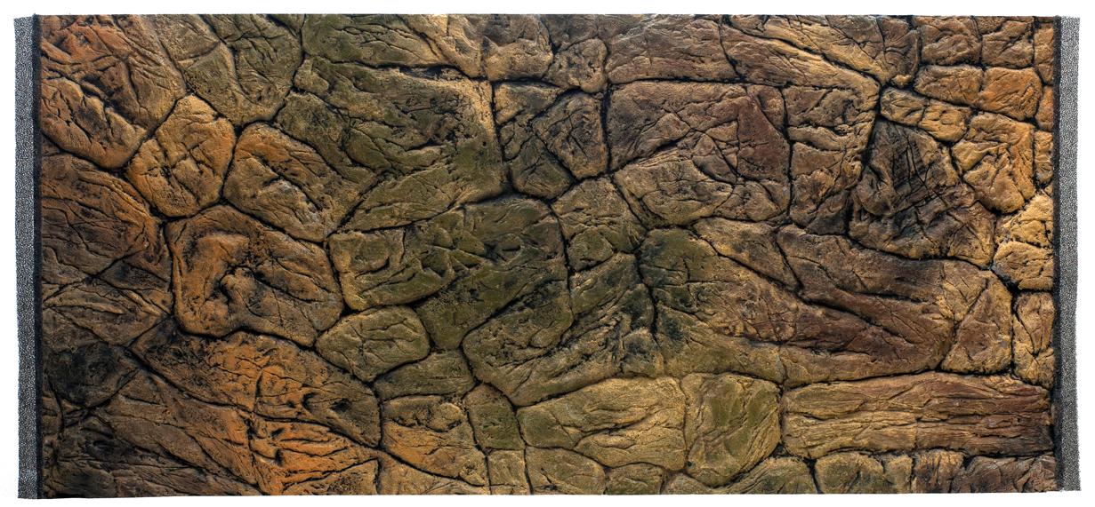 Aquarium Rückwand Flach 3D Felsen  Struktur Rückwand Aquarium Terrarien