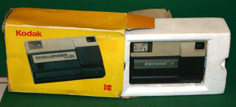 Vintage Kodak TELE Disc Camera in Challenger Box