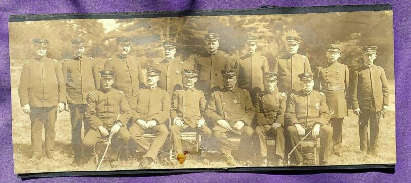 Antique Photo GAR Civil War Members Fraternal Photograph
