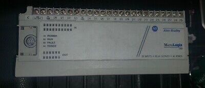 Allen Bradley Micrologix 1000 1761-l32bwa Ser E Working Has A Few Issues