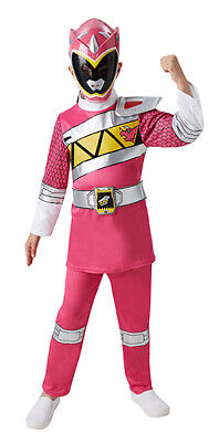 Pink Power Ranger Dino Charge Deluxe Kinderkostüm - Power Ranger Kostüme Kinder
