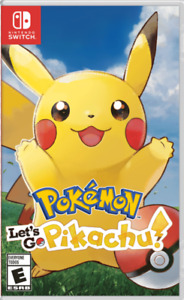f01dbbccb90e Pokemon Let s go Pikachu - Switch Used