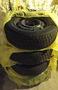"16 Rims 5 x 114.3 (5 x 4.5"") 6.5J x 16 ET50 with Bridgestone tir"