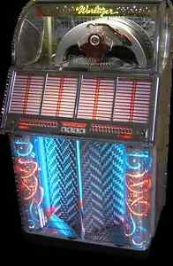 WURLITZER 1700 JUKEBOX OR OTHER OLDER WURLITZER JUKE BOX TOP $$$
