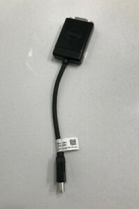 Great Condition- DELL Mini DisplayPort DP to 15-Pin VGA Adapter