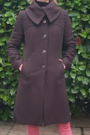 Women's woolen coat by John Rocha, size 12