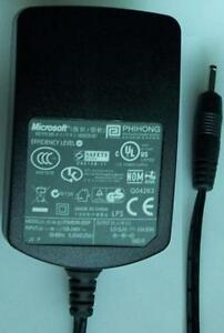 MICROSOFT PSM03R-055P AC Adapter 5.2 VDC 0.5A X809335-