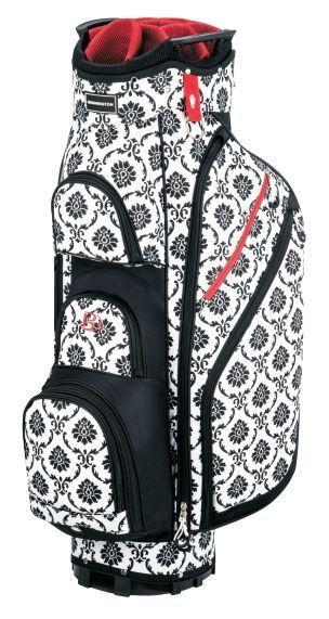 Miss Bennington Lite Golf Cart Bag, Brand New - Black Floral