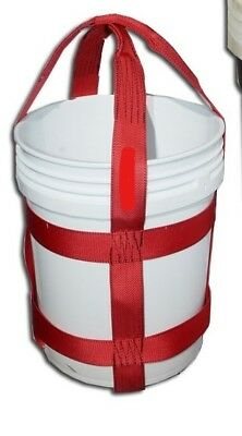 Trident Supply 5 Gallon Bucket Lifting Sling 28 Height Wll 300 Lb.sling Only