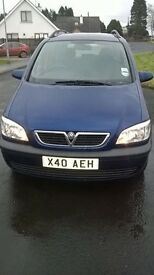 2004 2.0 DTI Vauxhall Zafira Elegance