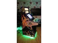 Arcade machine with TMNT art work over 3000 games