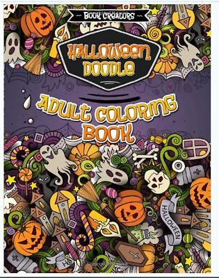 Halloween Coloring Book for Adults: 35 High Quality Designs. Paperback r - Books For Halloween Adults
