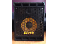 Markbass Standard 151HF Bass Cab 400watts 8ohms MADE IN ITALY RRP £600