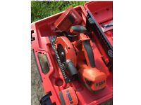 Hilti saw 22v with 25ah battery