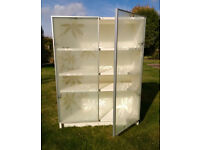 White IKEA storeage cabinet (2 x available)