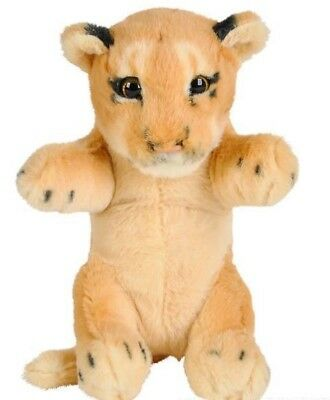 "8"" Lion Plush Stuffed Animal Jungle Cubbies Baby Cub Lioness"